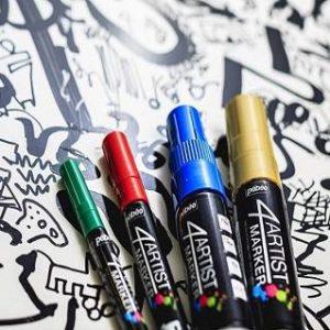 Pebeo 4 Artist Marker