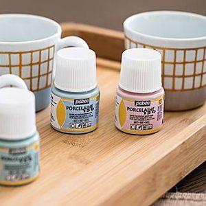Porcelain and Ceramic Paints