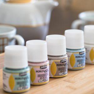 Pebeo Porcelaine Paint Pastel & Powder