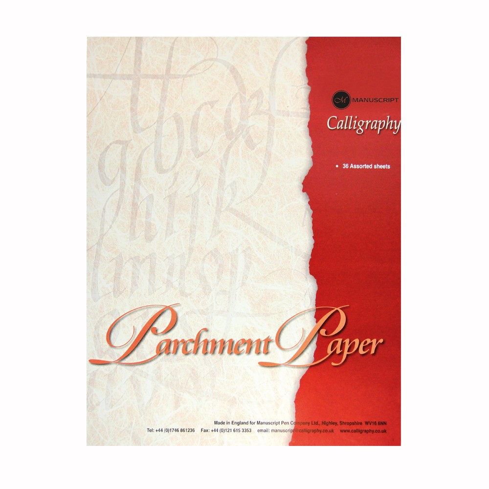 Manuscript Parchment Paper 36 Pages
