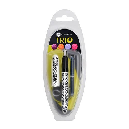 Manuscript Trio Pen In Clam
